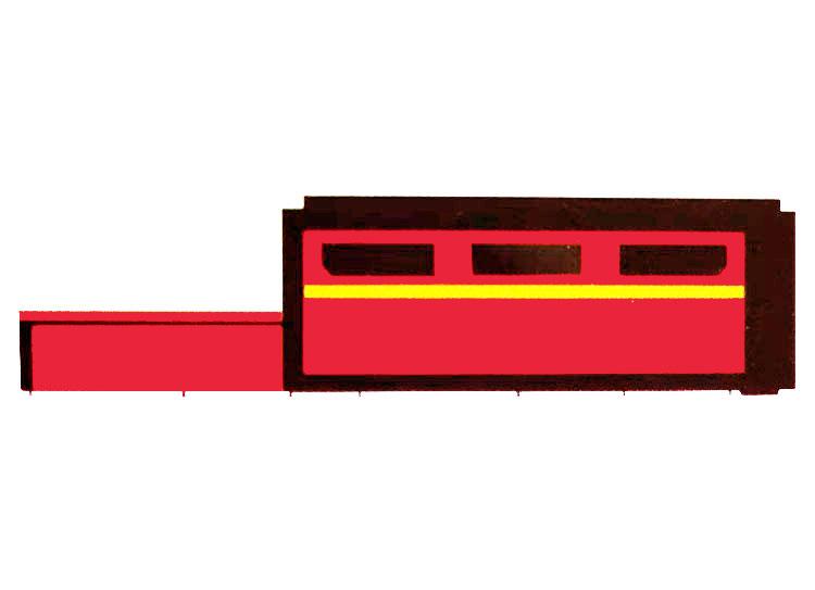 交换平台光纤金属激光切割机